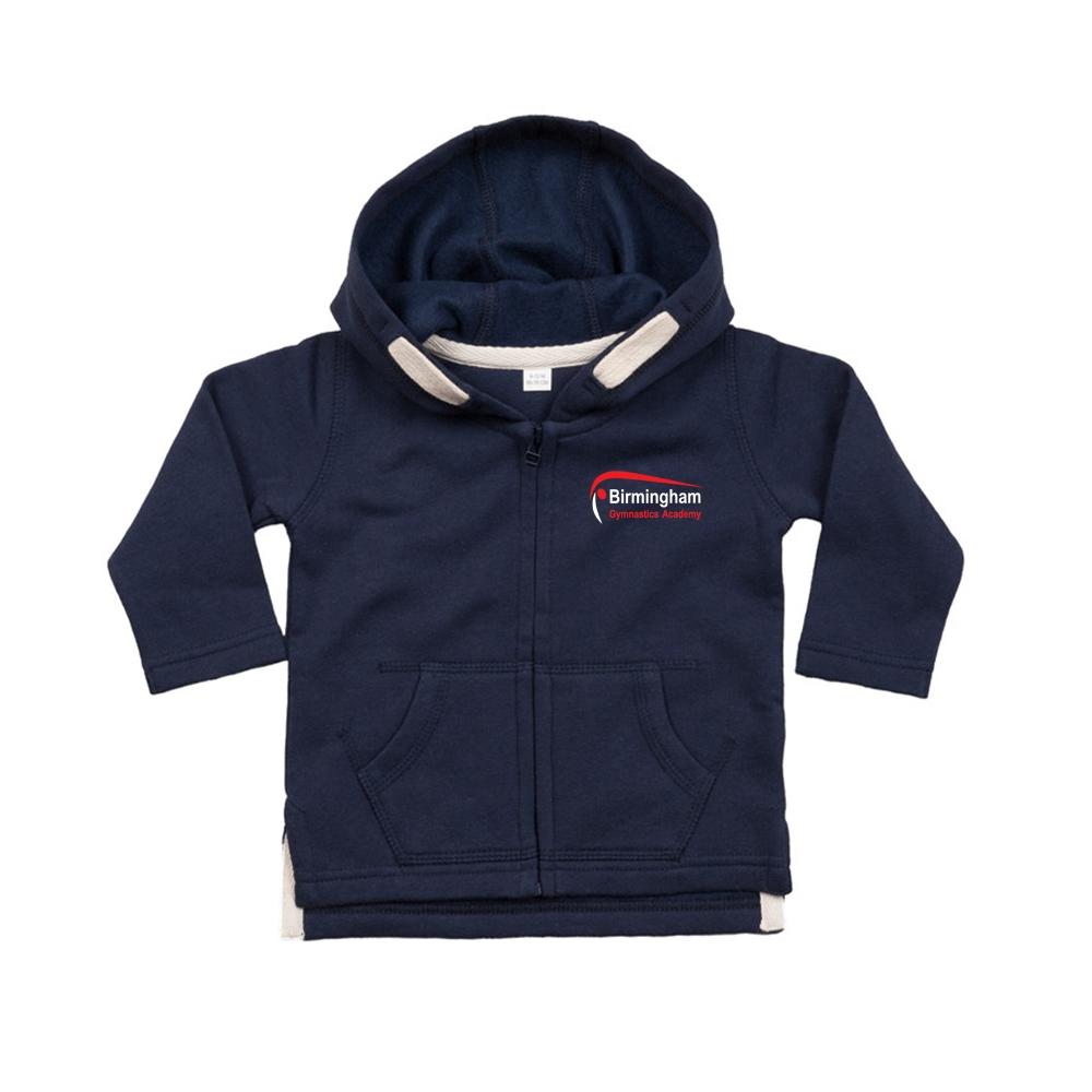 Pre School Zip Hoodie Front